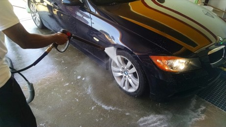Tire cleaning preparations