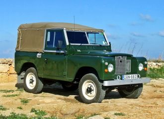 SUV Washing Services in Montgomery, AL - classic Land Rover SUV