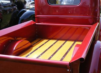Truck Washing Services in Montgomery, AL - vintage pickup truck with wooden truck bed