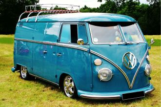 Van Washing Services in Montgomery, AL - classic volkswagen van with VW logo